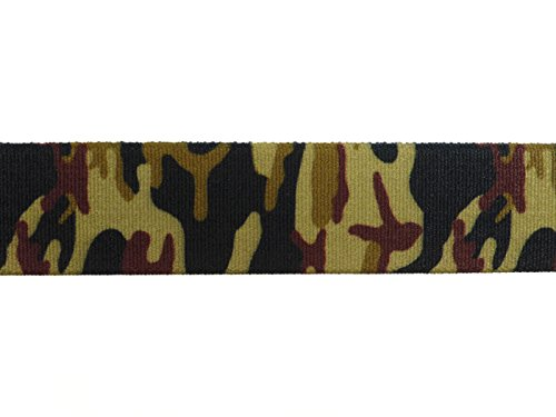 Ceinture élastiquée avec Velcro Boucle pour les enfants 1-6 ans, Motif Imprimé camouflage
