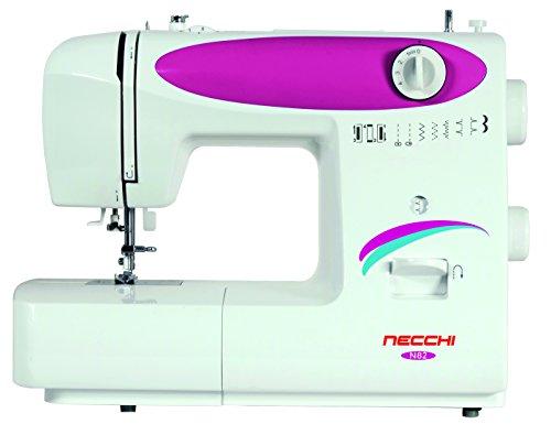 Necchi n82 macchina per cucire automatica, plastica, bianco, 38 x 30 x 17 cm