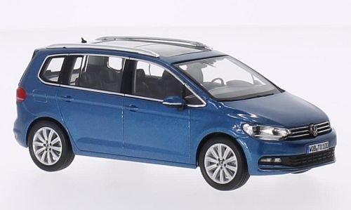 Preisvergleich Produktbild VW Touran, metallic-blau, 0, Modellauto, Fertigmodell, I-Norev 1:43