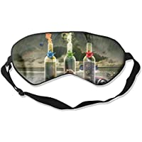 Sleep Eye Mask Creative Bottles Lightweight Soft Blindfold Adjustable Head Strap Eyeshade Travel Eyepatch E2 preisvergleich bei billige-tabletten.eu