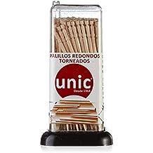 Unic - Palillos Redondos Torneados - 150 unidades