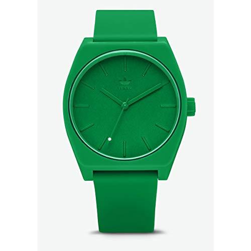 Adidas Unisex Analog Quarz Uhr mit Silikon Armband Z10-2905-00
