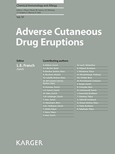 Adverse Cutaneous Drug Eruptions: 97 (Chemical Immunology & Allergy) (2012-05-07)