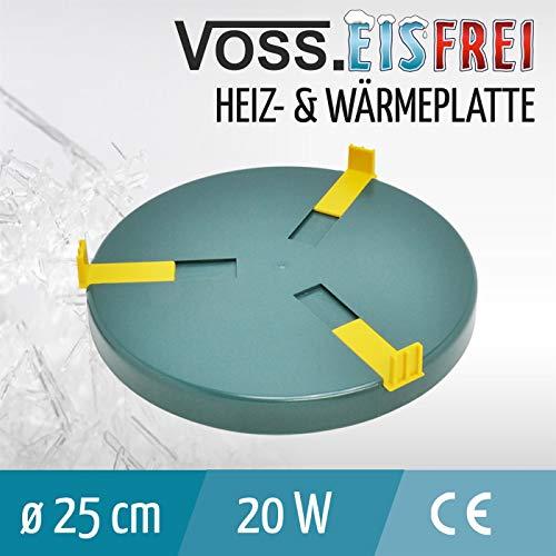 Heizplatte für Tränkenwärmer Tränkenheizung , 25cm, inkl. Netzteil 24V/ 20W - 2