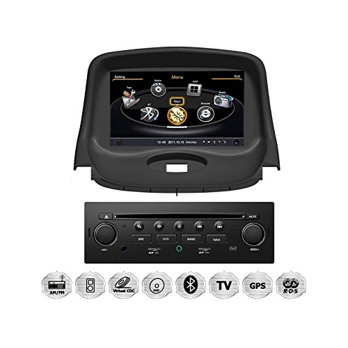 realmedia peugeot 206 oem einbau touchscreen autoradio dvd. Black Bedroom Furniture Sets. Home Design Ideas