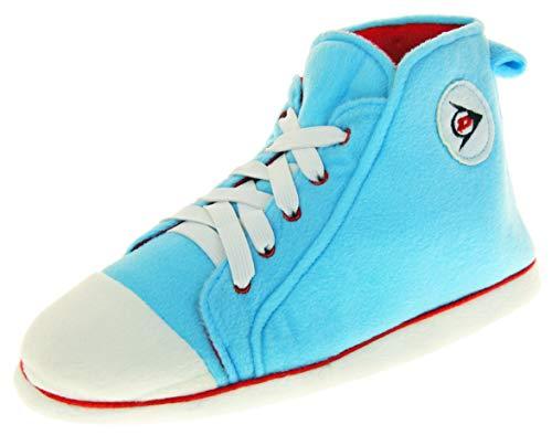 Dunlop Damen Hausschuhe Sneaker Pumps Stiefel Hell Blau EU 40-41