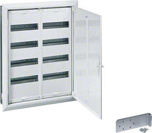 Hager Serie FW–Box Verteilung Einbau 2Abschnitt 3Reihen 72Module ausgestattet
