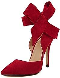 SAGUARO® Mujer Moda Nuevo Zapatos con Tacon Alto para Plataforma Sandalias tacón de 11 CM