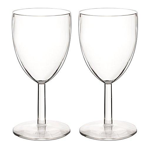 4 Stk. Deluxe Weinglas Polycarbonat 200ml