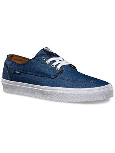 Vans U BRIGATA Unisex-Erwachsene Sneakers Bleu