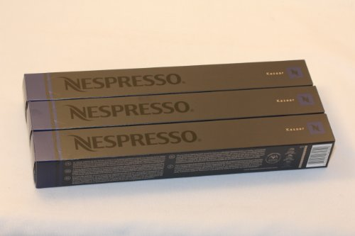 Purchase 30 Kazaar Nespresso Capsules Espresso Lungo Nestle - Nestlé