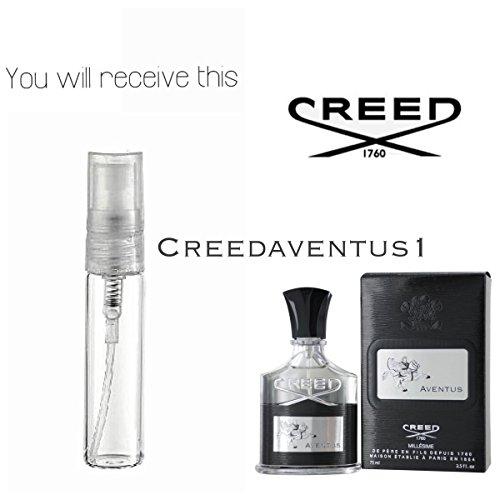 Creed Zerstäuber (Creed Aventus 5ml Spray Zerstäuber, für Ihn, Eau de Parfum, echte 100%)