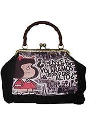 veronicamolero Bolso boquilla metálica Mafalda