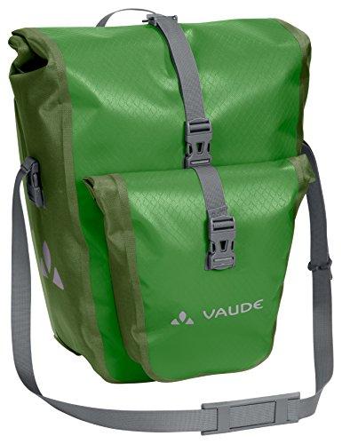 VAUDE Aqua Back Plus – Alforjas para Bicicleta – Juego de 2 Bolsas para Bici adaptables a la Carga e Impermeables – Par de portabultos para Rueda Trasera