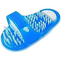 Limpiador de cepillo de pie. Masajeador para quitar cutis en el pie