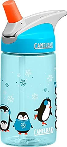 Camelbak Eddy Winter Holiday Kids Bottle - Penguin Parade, 400ml