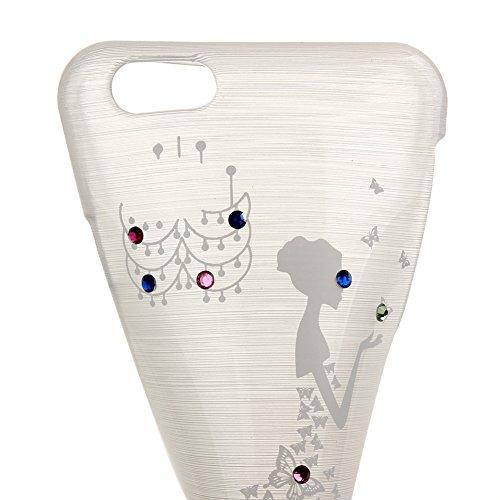 Coque pour iPhone 6 Plus, iPhone 6 Plus Coque en silicone, iPhone 6 Plus Etui Housse, iPhone 6s Plus Etui Housse, iPhone 6s Plus Coque Etui en silicone, iPhone 6 Plus Silicone Case TPU Cover, Ukayfe E Verte
