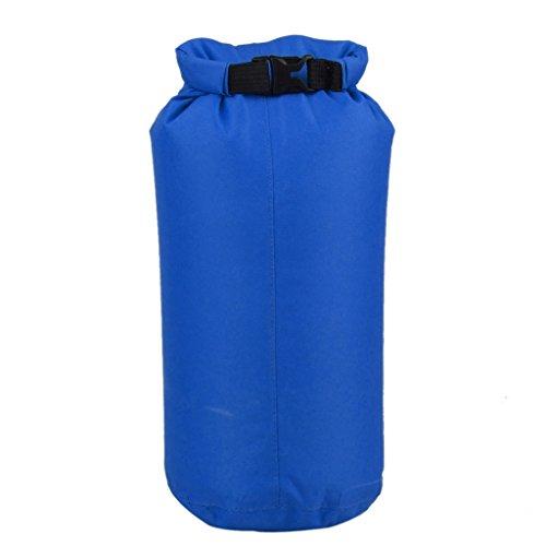 15l Leichten Wasserdichten Trockenen Beutel Tasche Fuer Bootfahren Kajak Angeln Deep Blue