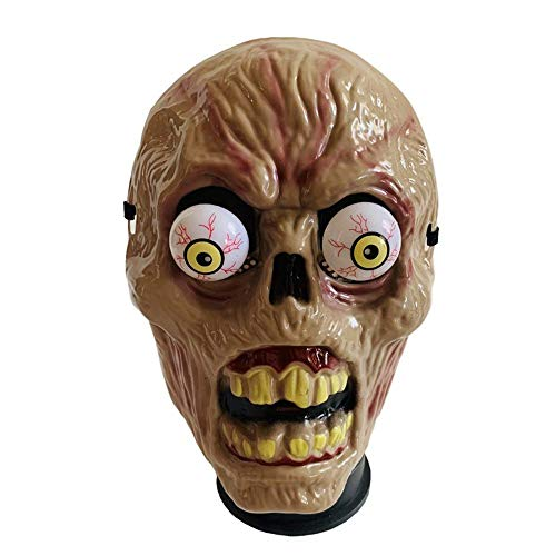 WEYQ Halloween Maske Gruselig Gruselig Hässlich Faul Maske Halloween Party Kostüm Dekoration Horror Latex Vampir Zombie Scared Ghost Head