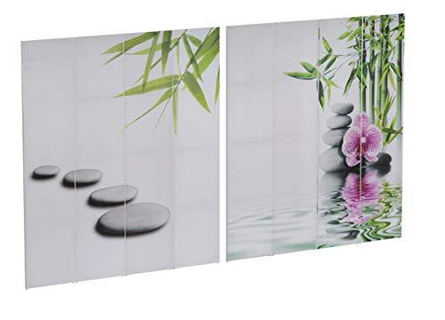 Mendler Foto-Paravent T234, Paravent Raumteiler Trennwand 180x160cm ~ Kho Samui