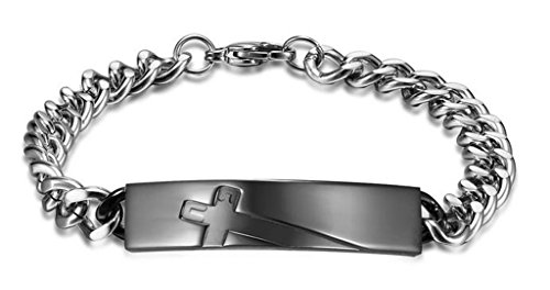 titanium-steel-couple-bracelet-for-him-and-her-non-allergenic-rose-gold-price-for-1pcs