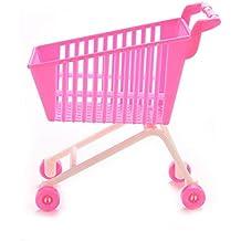 Carrito de compra Barbie Keepaningup, 1 unidad-Carrito de compras clásico de juguete