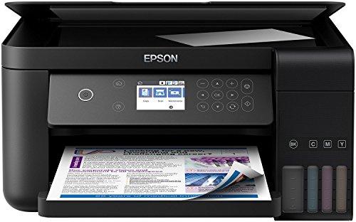 Epson EcoTank ET-3700 nachfüllbares 3-in-1 Tintenstrahl Multifunktionsgerät (Kopierer, Scanner, Drucker, DIN A4, Duplex, USB 2.0, hohe Reichweite, niedrige Seitenkosten)