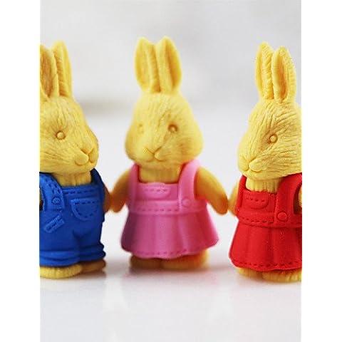 eraser di Pasqua retrò coniglio gomma staccabili