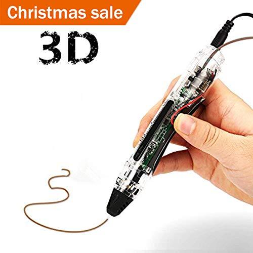 FUNTOK 3D Stift Printing Pen Printer Pen Druck Intelligente Niedrigen Temperatur 3D Stift Beste DIY Geschenk für für Kinder und Erwachsene