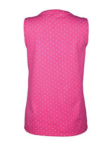 Damen Top mit Punktedruck by KLiNGEL pink gepunktet