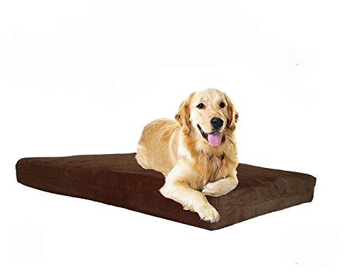 Pet stützsysteme Hund Betten-Orthopädische Memory Foam-100% Made in USA-Luxus Große Rassen Waschbar Pet Bett, Memory Foam Medium, 34