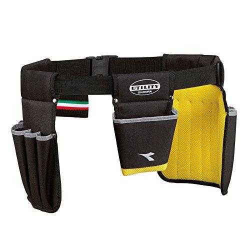 Diadora Utility Borsa a tracolla SHOULDER BAG 170011 Nero/Giallo