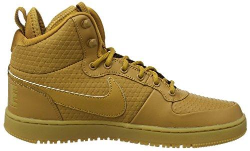 Nike Court Borough Mid Winter, Baskets Hautes Homme Marron (Wheat/Wheat-Black-Gum Light Brown)
