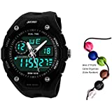 TTLIFE 1015 Mens Multifunction Analog Digital LED Quartz Electronic Sport Watches