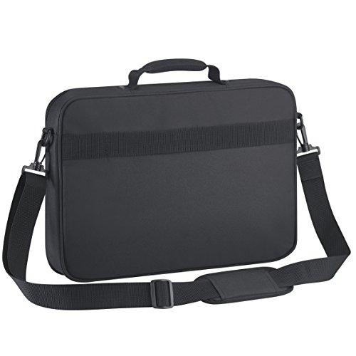 Targus Intellect Clamshell Laptop Tashcen 17.3 zoll - Schwarz - TBC005EU (Schwarz Clamshell Notebook Nylon)