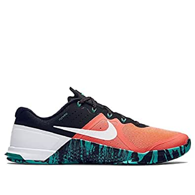 Nike Mens Metcon 2 Shoes Bright Mango/Hyper Jade/Wht 813 Size 10
