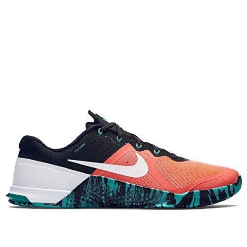 Nike Elite Dri-Fit Chaussettes de sport pour homme Mango/Verde/Bianco (Mango Brillante/Hiper Jade/Bianco 813)