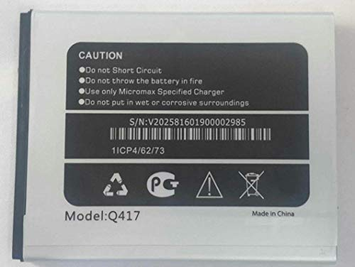 Replacement Internal Battery for Micromax Canvas Mega 4G Q4172500 Mah Li-Ion