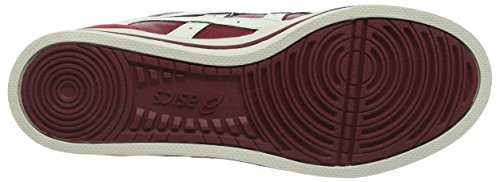 Asics Aaron, Baskets Basses Mixte Adulte Rouge (Burgundy/Slight White)