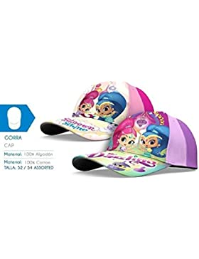 CAPPELLO DELUXE 100% COTONE TG. 52/54 SHIMMER AND SHINE
