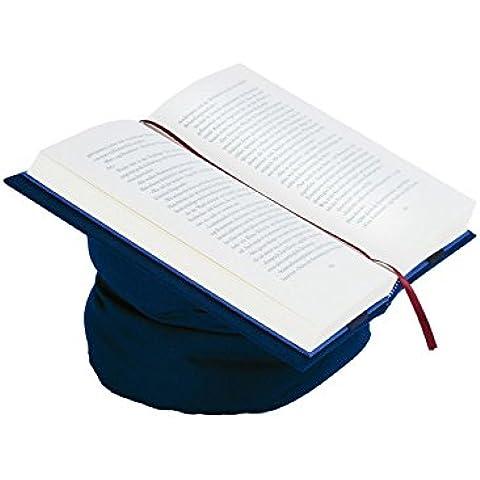 Aniversal 29250508 Leselotte - Funda de libro con soporte de lectura, color azul