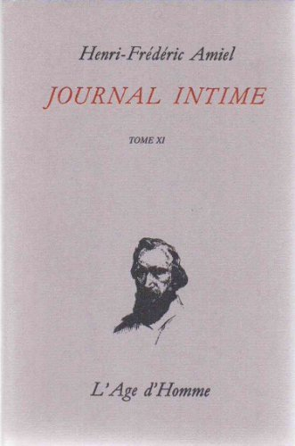 Journal intime, tome 11 : avril 1877 - juillet 1879