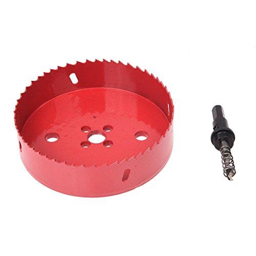 TOOGOO (R) 125 mm Holz-Aluminiumlegierung-Ausschnitt-Durchmesser Lochsaege Werkzeug
