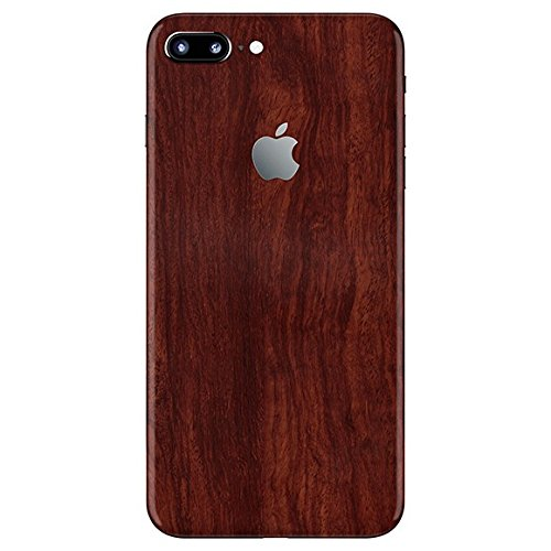 Vcare GadGets Apple iPhone 7 Plus Wooden Mahogany Skin For Back Only