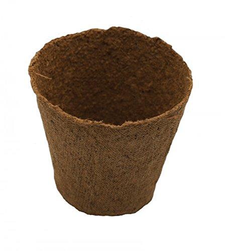 Pots de fleurs en tourbe ronds Biodégradables, 8 cm