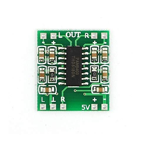 eHUB PAM8403 3W+3W Dual Channel Mini Digital Stereo Power Amplifier Board Class D