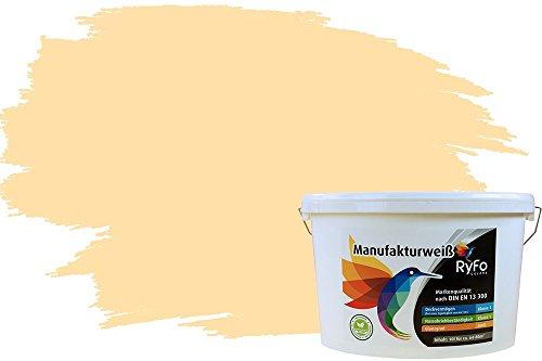 ndfarbe Manufakturweiß Marshmallow 10l - weitere Orange Farbtöne und Größen erhältlich, Deckkraft Klasse 1, Nassabrieb Klasse 1 ()