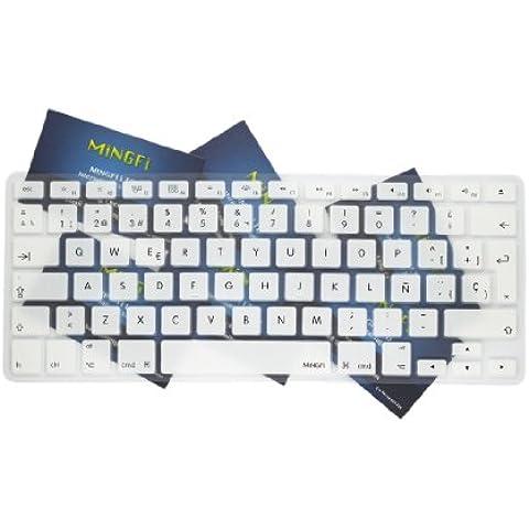 MiNGFi española Cubierta del teclado / Keyboard Cover para MacBook Pro 13