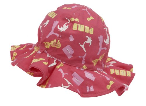 Puma Kinder Cap Minicats Sunhat, rouge red, M, 842772 01 (Golf-hut Puma)