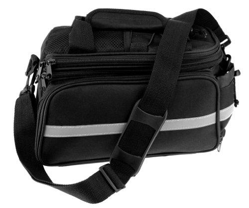 Preisvergleich Produktbild Reisende Gepäckträgertasche Erweiterbar Fahrrad Gepäcktasche Packtasche Fahrradtasche